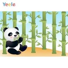 Yeele Baby Shower Panda Bamboo Bedroom Decor Nice Photography Backdrops Personalized Photographic Backgrounds For Photo Studio