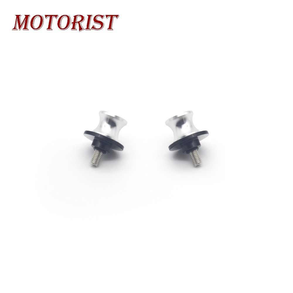 MOTORIST Motorcycle 6MM Aluminum Swingarm  Spools Slider Stand Screws For Yamaha MT09 MT-09 MT07 MT-07 R1 R3 R6 R25 R6S