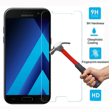 Tempered Glass for Samsung Galaxy A5 2017 Screen Protector Guard A520 Film