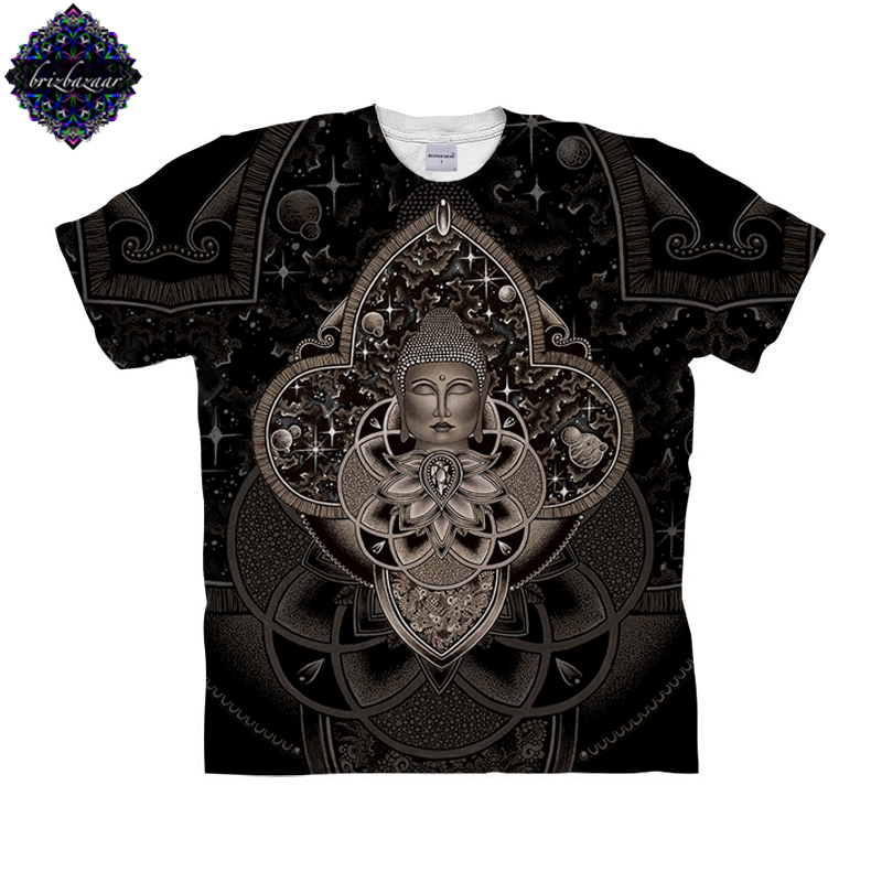 CosmicNirvana By Brizbazaar Art Unisex T shirt 3D Print Tees Tops Harajuku Mens Camiseta Short Sleeve Streetwear t shirt Male