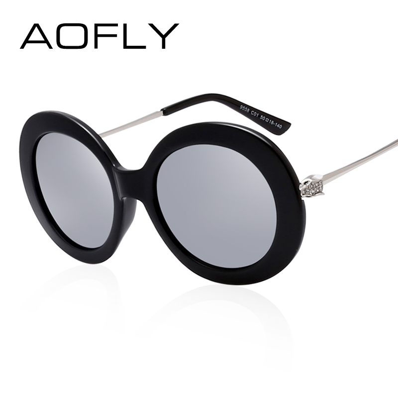 AOFLY Sunglasses Women Brand Sun glasses Fashion Vintage Retro Mirror  Sunglasses Top Quality Oculos UV400 Gafas De Sol mujer 2ee95fb94f