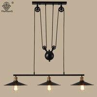 Pendant Lamp 3 Heads Industrial Iron Vintage Rural Creative Loft Light For Decor Cafe Restaurant Living