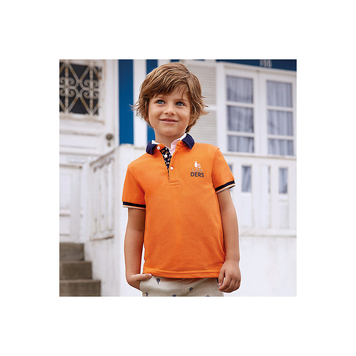 MAYORAL Polo Shirts 10690872 children clothing t-shirt shirt the print for boys