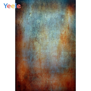 Yeele Metal Surface Texture Rusty Party Wallpaper Portrait Grunge Photo Backgrounds Photography Backdrops For Studio