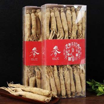 250g-500g no pesticide  ginseng root  ginseng Improve immunity good quality free shipping цена 2017