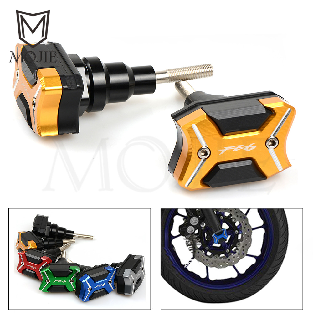 For Yamaha FZ6 FZ 6 2006-2017 2007 2008 2009 2010 2011 2012 2013 2014 2015 2016 Motorcycle Frame Slider Falling Crash Protectors 100% new original projector color wheel for benq pe7700 pb7700 wheel color 50mm