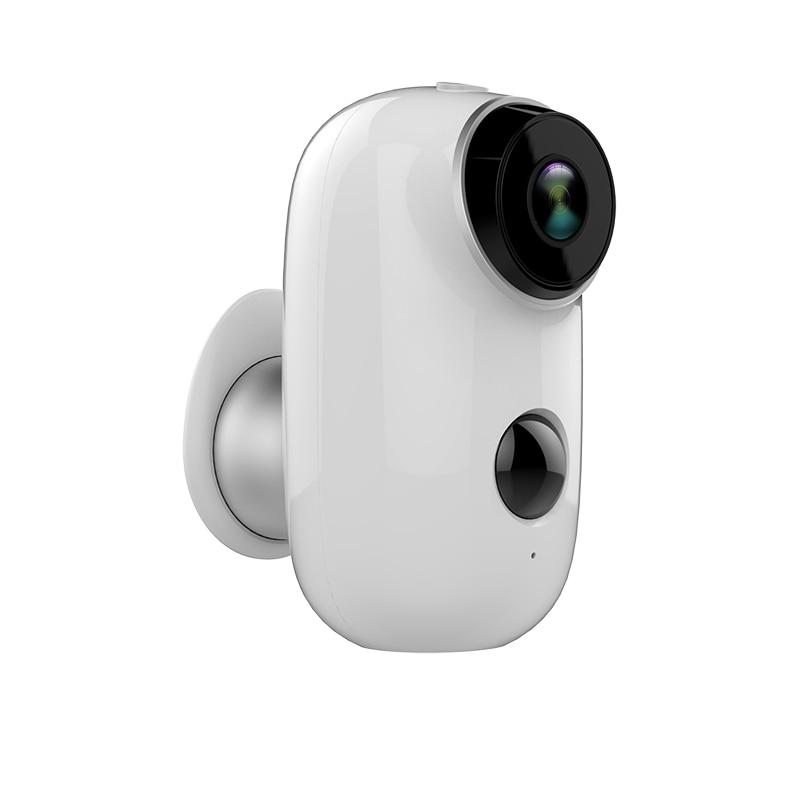 Battery Powered 100 Wireless WiFi IP Camera 720P HD Waterproof Indoor Outdoor IR Night Vision Home