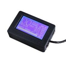 Dla Ant płyta ochronna wodoodporny wyświetlacz lcd obudowa ekranu obudowa zewnętrzna obudowa zewnętrzna obudowa 24S 32S BMS czarne pudełko zewnętrzne