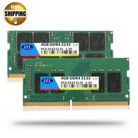 JZL Laptop Sodimm PC4 17000 DDR4 2133MHz 4GB PC4 17000 DDR 4 2133 MHz LC15 1.2V 260 PIN Memory Module Ram for Lap top / Notebook