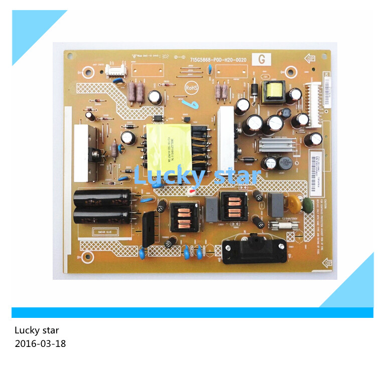 Original KLV-32R300A power supply board 715G5868-P0D-H20-0020 100% test good board good working original used for power supply board led50r6680au kip l150e08c2 35018928 34011135