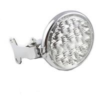 5 Chrome LED Motorcycle Steel Headlight Lamp for Honda Yamaha Harley Ktm Kawasaki Suzuki Chopper Crusier