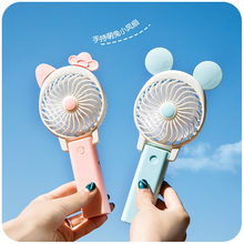MTL Creative Outdoor travel portable cartoon cute Mickey Student mini handheld USB fan