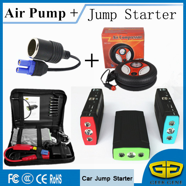 Car Jump Starter 68000mAh Portable Lighter Power Bank Diesel Petrol Starting Devcie Car Charger For Car