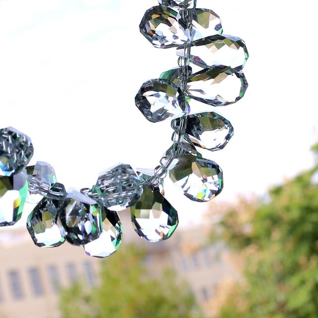 10x18mm Crystal Teardrop Beads 1