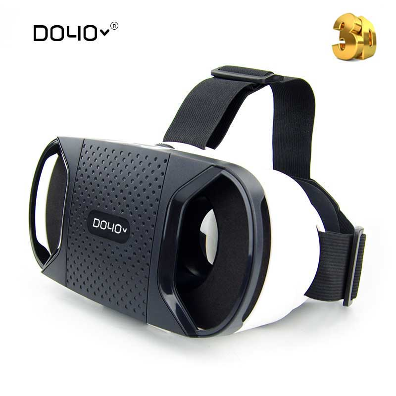 2016 Hot Brand Vr Box 3D Glasses Version Virtual Reality Vr Camera Video Movie Game -3978