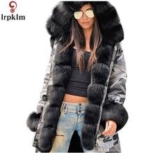 Women Winter Jacket Long Plus Size 5XL Women Parkas Winter Coat Hooded Jackets And Coats Loose Long Parka 2018 New CH648