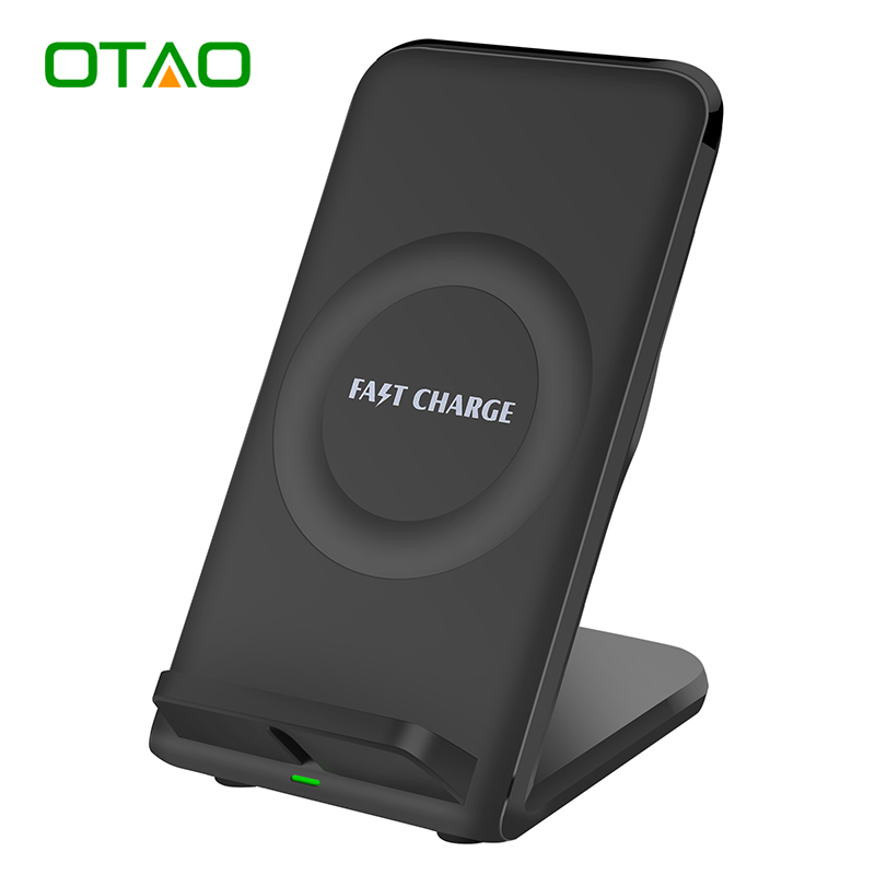 otao fast wireless charger with cooling fan quick charger. Black Bedroom Furniture Sets. Home Design Ideas