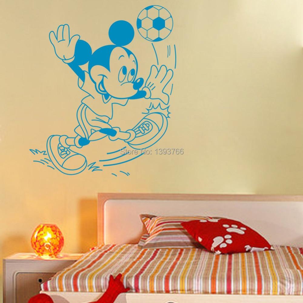 Soccer Ball Football vinyl Wall Sticker Decal for Kids Room Decor ...
