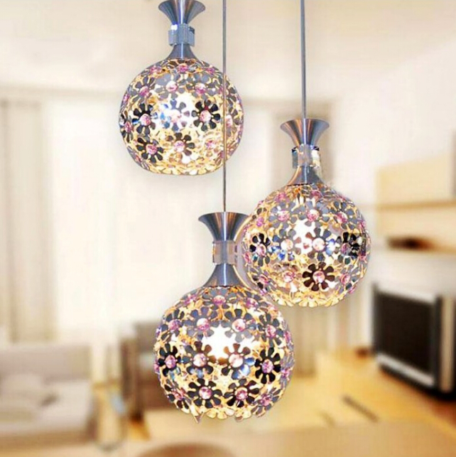 lustre boule en m tal promotion achetez des lustre boule en m tal promotionnels sur aliexpress. Black Bedroom Furniture Sets. Home Design Ideas