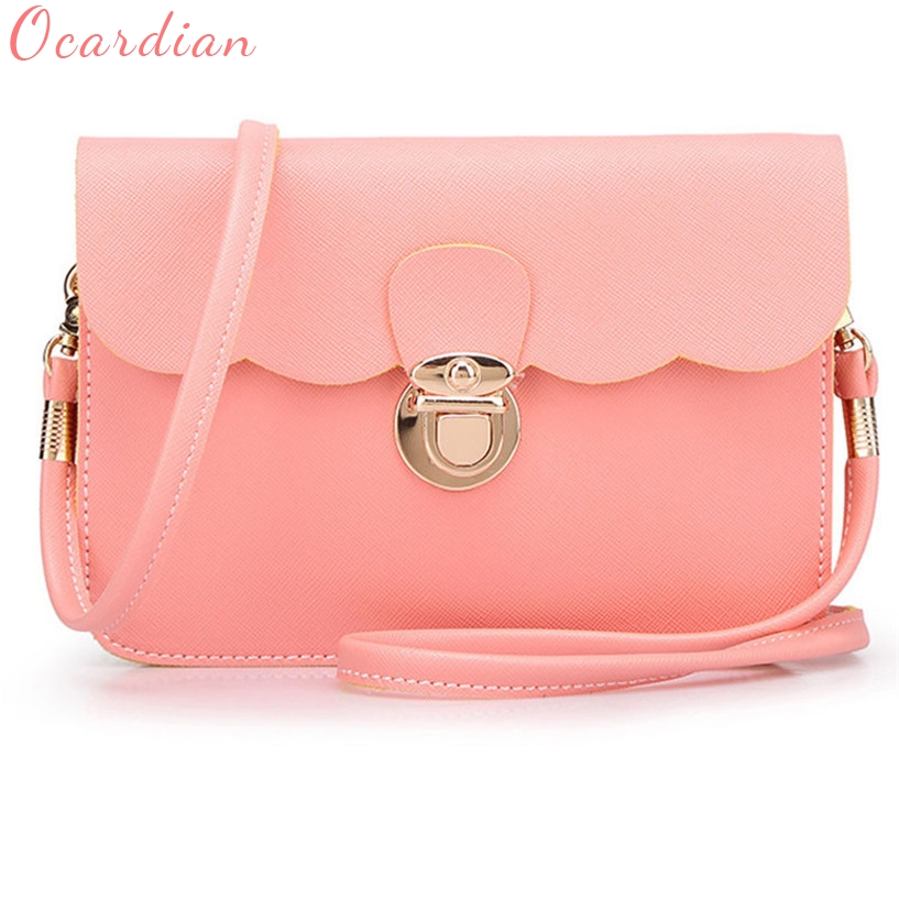 Ocardian Brand women bag Womens Leather Shoulder Bag Clutch Handbag Tote Purse Hobo Messenger bolsa feminina #0908 ocardian brand thermal insulated lunch box cooler bag tote bento pouch lunch container 4 color 03 0908