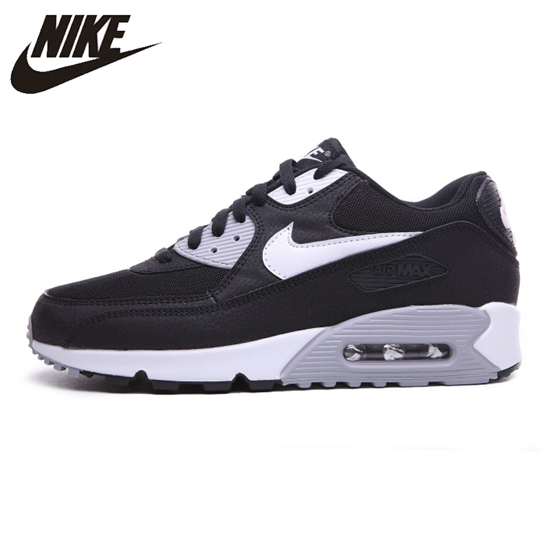 купить Nike Air Max 90 ESSENTIAL Men's Running Shoes Shock Absorption Balance Lightweight Outdoor Sneakers 616730-012 по цене 6297.25 рублей