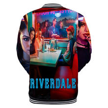 New 3d Riverdale Jacket Serpents American Hot TV Show Women/Men Baseball Jackets Kpop Hip Hop Snake Hoodies Sweatshirt Coat 4XL(China)