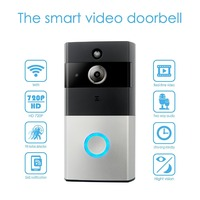 LESHP Wifi Video Doorbell Wireless 1 0MP HD Camera Night Vision Two Way Audio Intercom Waterproof