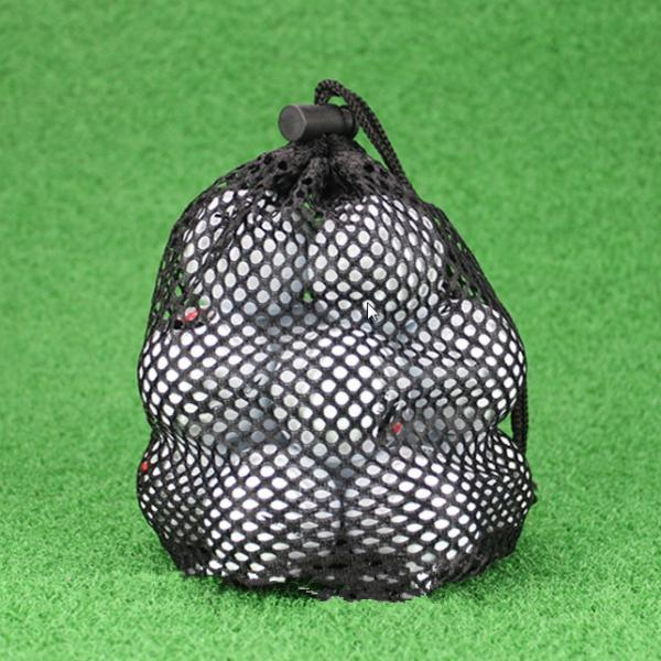 Portable Lightweight Golf Ball Collector Tennis Balls Storage Carry Bag Hold 16-20 Pcs Balls Top Quality Nylon