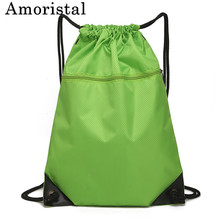 Drawstring Bags Fashion High Quality String Sack Men Travel Storage Package Teenagers Backpack Bag for Women Pocket Bag B146