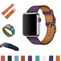 URVOI Single Tour band for apple watch series 1 2 strap for iwatch belt for Hermes watch band luxury genuine Swift Leather loop