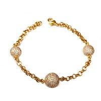 Aaa Quality Zircon Fashion Female Bracelet Inlaying Birthday Gift