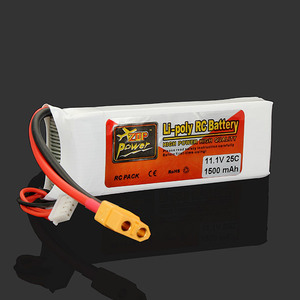 Image 3 - Haute qualité ZOP puissance 3S 11.1V 1500MAH 25C batterie XT60 Plug Rechargeable batterie Lipo