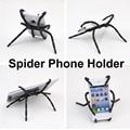 New Hot Universal Aranha Aperto Forma Cabide Estande Suporte Do Telefone Móvel de Montagem Para o iphone Samsung HTC Sony LG iPad PC