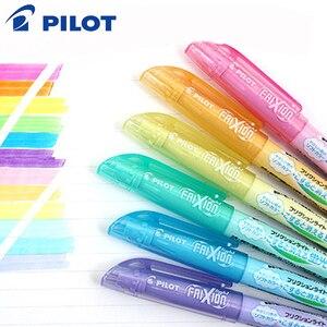 Image 3 - 6Pcs Pilot FriXion Licht Löschbaren Highlighter leuchtstoff stift SFL 10SL 6 Weiche Farbe Tinte Schreiben Liefert