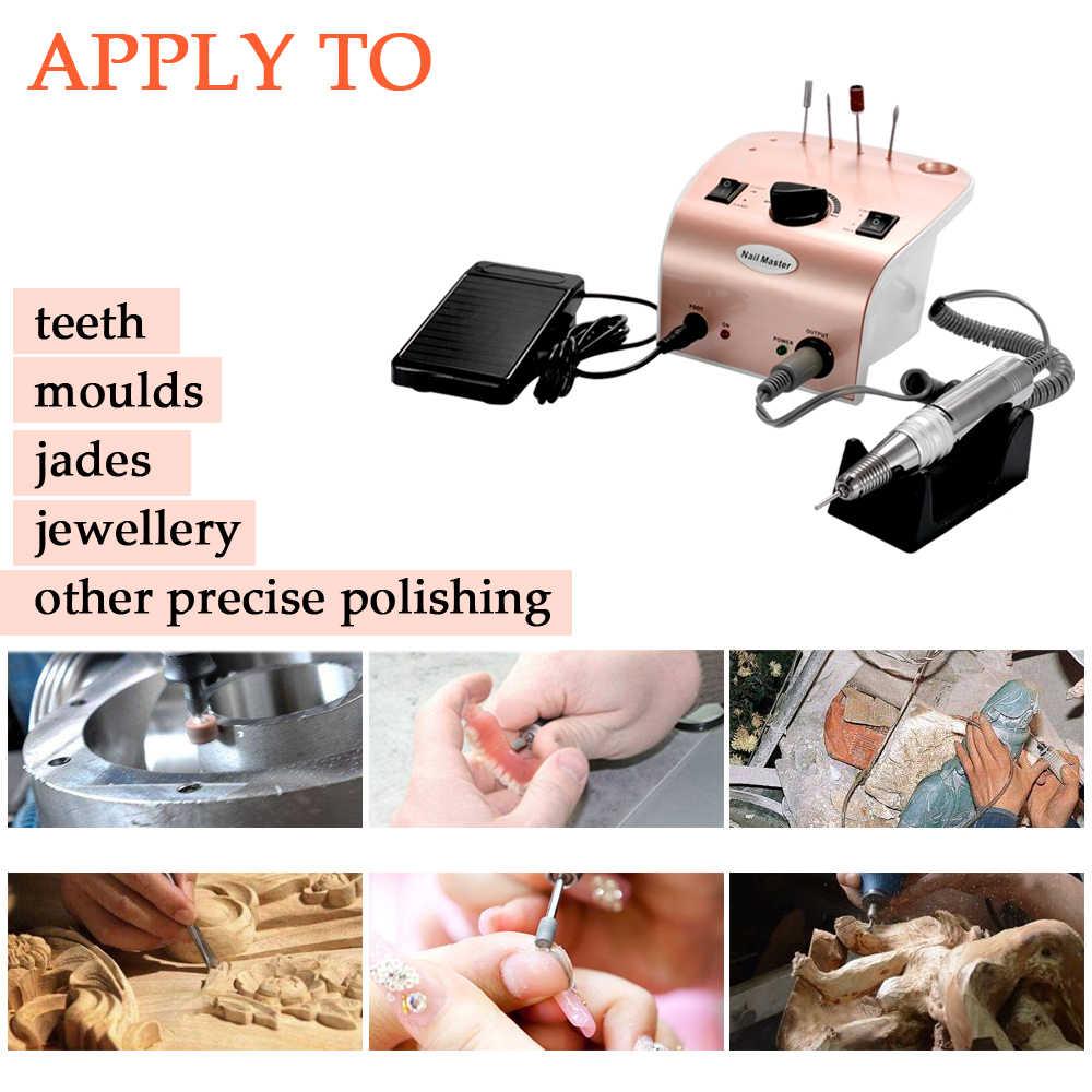 35000r Electric Kuku Bor Mesin Mesin Bor Kuku Peralatan Manicure Produk Profesional Kuku Polisher Kit