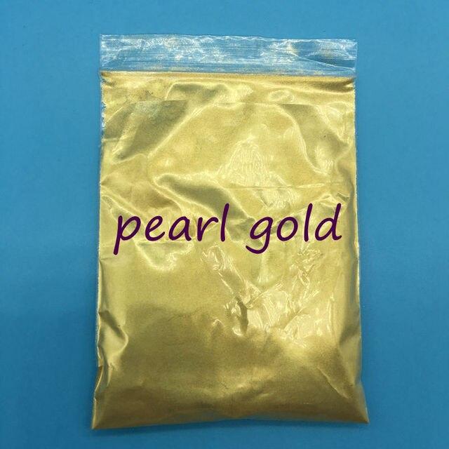 Pigmento nacarado de Mica en polvo de Oro de alta Calidad para la ...