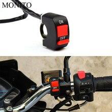 Для KTM 65 85 105 125 144 150 200 SX/XC/EXC/XC-W/SX-F мотоцикл кнопка включения рычаг управления мотоциклом разъем лампа-кнопка Светодиодный переключатель