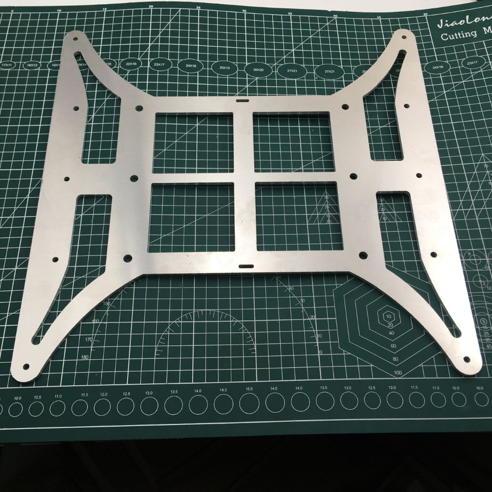 CR-10 4S 3D Printer Light Weight Y Carriage Build Plate Base/Support Plate Heated Bed For CR-10 S4 400mm 3D Printer Parts