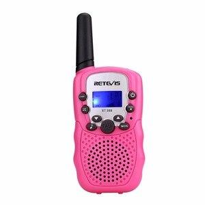 Image 3 - 1pc Mini Walkie Talkie Kinder Radio Retevis RT388 0,5 W UHF 462 467MHz UNS Frequenz Tragbare Zwei weg Radio J7027
