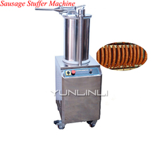 Automatic Sausage Filler Sausage Stuffer Machine Commerical Sausage Meat Extruder Fill the Sausage Stuffing Machine SF-150 tom s sausage lion