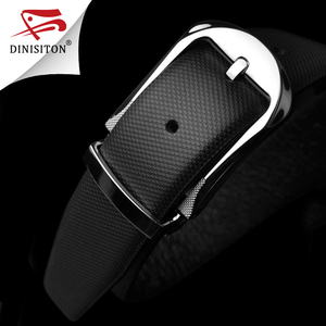Image 3 - DINISITON High Quality First Layer Belt Cow Genuine Leather Belts For Men Business Pin Buckle Designer Strap Male Cinto PX217