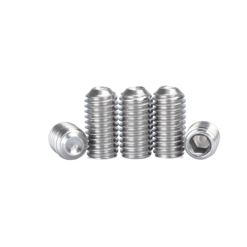 DIN 916 CUP Point Socket SET SCREWS Allen Qty 20 M6 Grub 6mm x 1.00 x 50mm