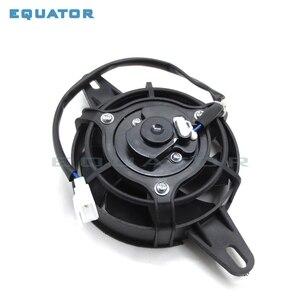 ATV Quad картинг Багги Байк Мотоцикл масляный охладитель воды охладитель Новый электрический вентилятор для охлаждения радиатора для 200 250 cc