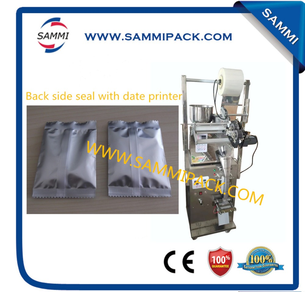 SMFZ-70D pillow pack/ back seal automatic granule weighing and packing machine With date coder