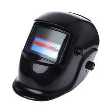 Solar Auto Darkening Welding Helmet Mask Arc Tig Mig Grinding Welder Cap Face Mask