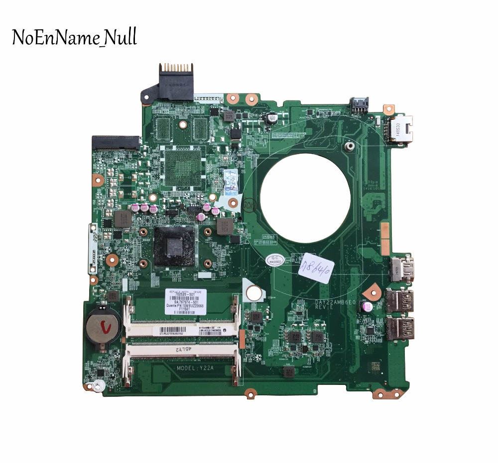 762526-501 Free Shipping For HP 15-P 15-P010DX Laptop Motherboard 762526-001 DAY22AMB6E0 MOTHERBOARD A8-6410 100% Tested