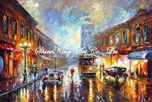 palette knife oil painting  modern oil painting canvas oil painting  K480
