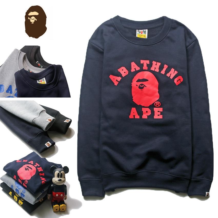 High Quality BAPE Sweatshirt Men Women Classic AAPE Hoodie Hip Hop Fashion Casual Harajuku Bape ...