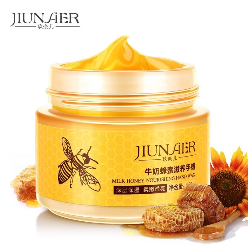 Milk Honey Nourishing Hand Wax Beauty Hand Care Moisturizing Exfoliating Anti-Aging Anti-Drying Anti Wrinkle Pore-Cleansing цена и фото