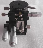Xzr axe Table coulissante optique coupe étage linéaire manuel déplacement station de croix Guide Roller XZR40L 40 * 40 mm